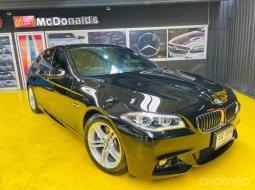2015 BMW 525d 2.0 M Sport รถเก๋ง 4 ประตู รถบ้านมือเดียว