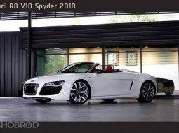 2010 Audi R8 5.2 Spyder FSI quattro 4WD รถเปิดประทุน