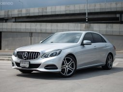 New !! Benz E200 Sedan Edition E ปี 2015 รถตัวถังเดิมทั้งคัน สวยมาก ไม่มีผิดหวังแน่นอน