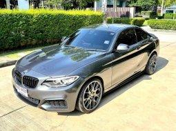 จองให้ทัน BMW 218i M Sport Coupe สีเทาดำ ปี 2016