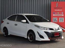 2018 Toyota Yaris Ativ 1.2 E รถเก๋ง 4 ประตู ออกรถฟรีดาวน์