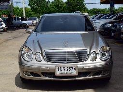 Mercedes-Benz E220 CDI 2.1 W211 Elegance Auto ปี2006 ดีเซลสุดประหยัด สภาพดีสุดในย่านนี้