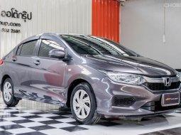 🔥ฟรีทุกค่าดำเนินการ🔥  Honda CITY 1.5 S i-VTEC ปี2017 รถเก๋ง 4 ประตู
