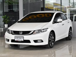 2015 Honda CIVIC 1.8 E i-VTEC รถเก๋ง 4 ประตู รถบ้าน