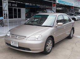 Honda Civic 1.7 VTi ปี 2002 รถบ้านมือเดียวป้ายแดงขับดีตัวรถสวยไมล์แท้มีเล่มพร้อมโอน