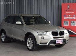 2012 BMW X3 2.0 xDrive20d Highline 4WD SUV รถบ้านมือเดียว