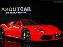 Ferrari 488 spider ปี 2017  วิ่ง 16,000 กม.