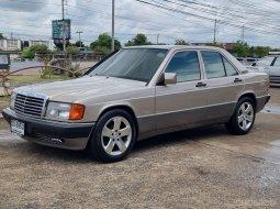 1993 Mercedes-Benz 190E 2 รถเก๋ง 4 ประตู รถสวย บอดี้เดิม ภายในสภาพเดิมดูดีมาก