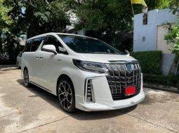 2020 Toyota ALPHARD 3.5 รถตู้/MPV รถบ้านแท้