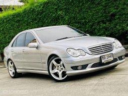 2006 Mercedes-Benz C230 2.5 Avantgarde Sports AMG รถเก๋ง 4 ประตู ไมล์
