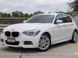 BMW 116i M Sport F20 ปี 2014 รถสีขาวแท้จากโรงงาน