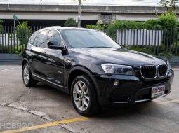 2012 BMW X3 2.0 xDrive20d 4WD รถเก๋ง 5 ประตู รถบ้านมือเดียว