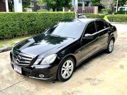 จองด่วน Benz E250 CDI Elegance สีดำ ปี2011