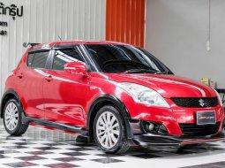 🔥ฟรีทุกค่าดำเนินการ🔥 Suzuki Swift 1.2 GLX ปี2015 รถเก๋ง 5 ประตู