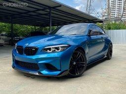 จองด่วน BMW M2 LCI Minorchange ปี 2019 สีฟ้า Long Beach Blue รถสวยสภาพเดิมๆ
