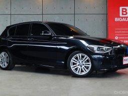2015 BMW 116i 1.6 F20 Hatchback M Sport TOP สุดภายในเบาะหนังสีแดง รถออกศูนย์ BMW THAILAND ครับ P4506