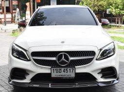 2019 Mercedes-Benz C220 2.0 d AMG Dynamic รถเก๋ง 4 ประตู