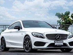 2017 Mercedes-Benz C43 3.0 AMG 4MATIC 4WD รถเก๋ง 2 ประตู ไมล์