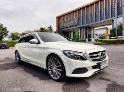 Benz C350e Amg Estate 2017 Warranty ศูนย์ถึง 12/2021