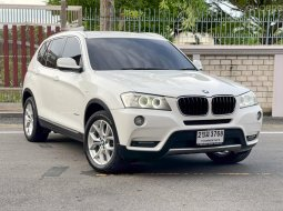 2011 BMW X3 2.0 xDrive20d Highline 4WD SUV ออกรถฟรี