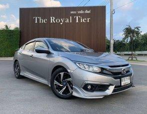 2017 Honda CIVIC 1.8 EL i-VTEC sedan มือเดียวออกห้าง เข้าศูนย์ตลอด ไม่เคยชน ไม่เคยทำสี สภาพดีเยี่ยม การันตี👍👍