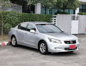 Honda accord 2.0 E เกียร์ Auto ปี 2008 ตัวถังเดิม ไม่เคยมีอุบัติเหตุ ไม่เคยแช่น้ำ