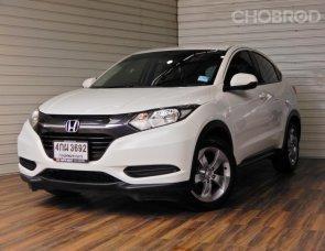 Honda HR-V 1.8 S SUV AT ปี2015 สีขาว รถสวย ไมล์น้อย ฟรีดาวน์