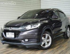 Honda HR-V 1.8 E SUV AT ปี2015 สีเทา รถสวย ไมล์น้อย ผ่านง่าย