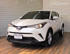 Toyota C-HR 1.8 Entry SUV AT ปี2018 สีขาว