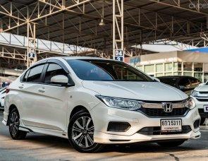 {ไมล์ 4 หมื่นแท้ รับประกัน 1 ปี พบชนหนัก ยินดีซื้อคืน} 2017 Honda CITY 1.5 V i-VTEC Modulo