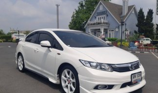 Honda Civic FB 1.8 E Navi Auto 2012 ขาว ฆพ1230