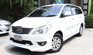 2013 TOYOTA Innova 2.0 (ปี 11-15) G Wagon A/T