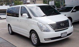 ปี11 Hyundai Grand starex 2.5 VIP สีขาว รถสวยมือเดียวน่าหาใช้ขับดีไม่มีอุบัติเหตุสภาพพร้อมใช้งาน