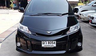 Toyota Estima Hybrid 2.4 G ปี09 สีดำ รถครอบครัวแบบอเนกประสงค์ที่ดูหรูหราออฟชั่นครบไฟฟ้าทั้งคันขับดีไม่มีอุบัติเหตุพร้อมใช้