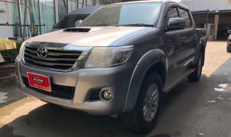 ขายรถ TOYOTA VIGO D CAB 3.0G NAVI 4x4 AUTO ปี 2014 สีเทา