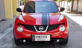 Nissan Juke 1.6 V ปี14 สีแดง รถสวยขับดีภายในดำเครื่องฟิตช่วงล่างแน่นออฟชั่นครบพร้อมใช้