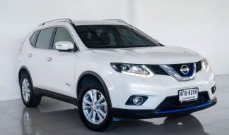 NISSAN X-TRAIL 2.0V HYBRID 4WD 2016 (AT) WHITE - 4กษ-6206