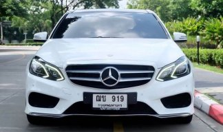 Mercedes Benz W212 E-200 Facelift AMG Sport Dynamic ปี 2014