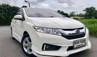 ((ราคาพิเศษ468,000))Honda City 1.5 V Plus AT 2016 สีขาว