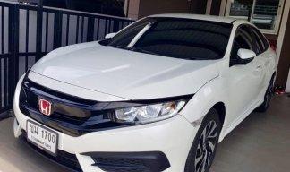 ((ราคาพิเศษ))HONDA CIVIC FC 1.8 E AT 2017 สีขาว