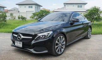 Benz C250 Coupe Sport ปี2017
