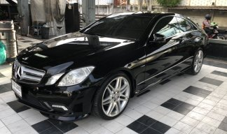 ขายรถเบญชิล 2 ประตู Benz E250 AMG หลังคาแก้ว   ปี 2010