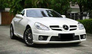 Benz SLK 200 R171 ปี2012 สีขาว