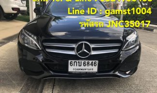 BENZ C350e PLUG-IN HYBRID AT ปี 2017 (รหัส JNC35017)