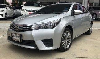 โตโยต้าชัวร์ Toyota Altis 1.6G Sedan AT 2014