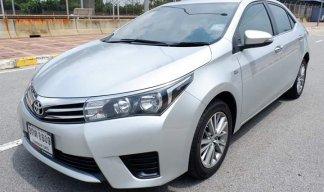 2014 Toyota Altis sedanรถมือเดียว ไม่เคยทำสีแม้แต่ชิ้นเดียว ไม่เคยดมแก๊ส สวยจัด