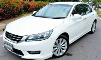 2014 Honda ACCORD 2.0 EL sedanฟรีดาวน์!!