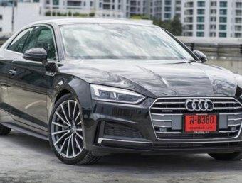 เปิดตัวอย่างเป็นทางการ Audi A5 45 TFSI S Line Coupe