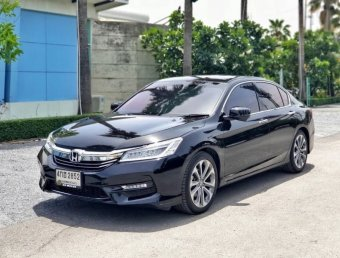 2017 Honda ACCORD EL NAVI sedan