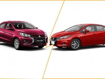Nissan Almera 2020 vs Mitsubishi Attrage 2020 ดวลอีโค่คาร์ชื่อดัง ใหญ่ชนยักษ์ เทียบสเปคให้รู้ว่าใครดีกว่ากัน
